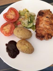 Dagens grill: Fläskkotlett med senapsglaze