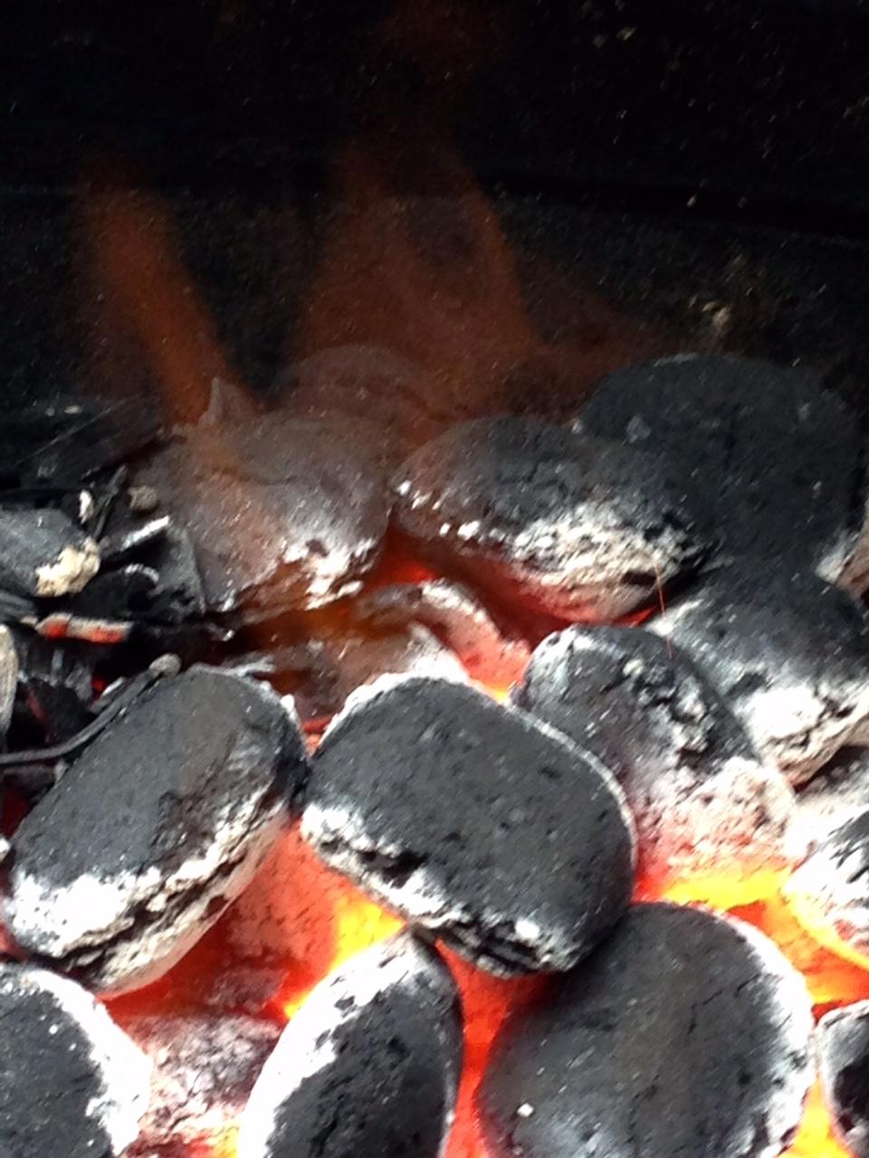 Bränn inte köttet