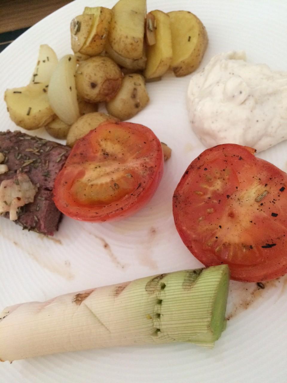 Dagens grill: Lammytterfilé med ugnsrostad potatis