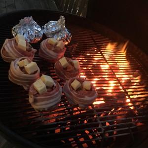 Dagens grill: Bacon-shotbullar