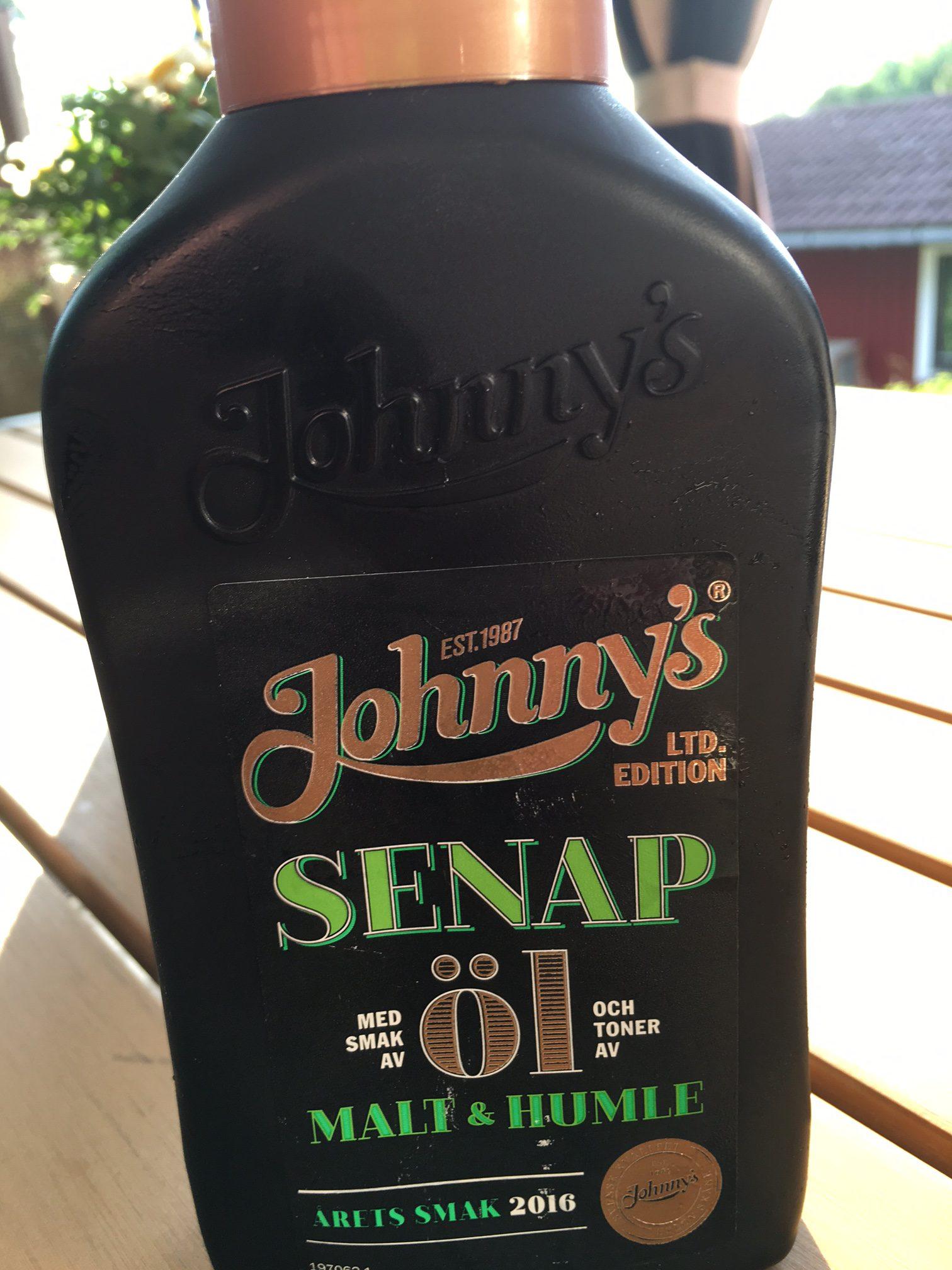 Test: Johnny's Senap med smak av Öl