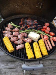 Dagens grill: Rullader med bacon och senap
