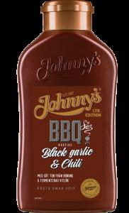 Test: Johnny's BBQ-sås Black Garlic & Chili