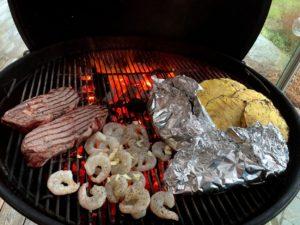 Grillade ostfyllda baconköttbullar Grillbaronen