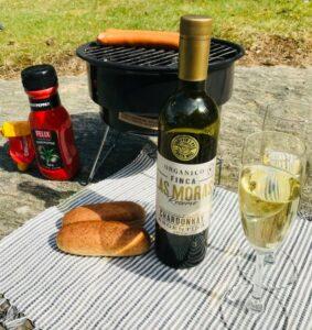 Test: Las Moras Organic Chardonnay Reserve – grill på picknick